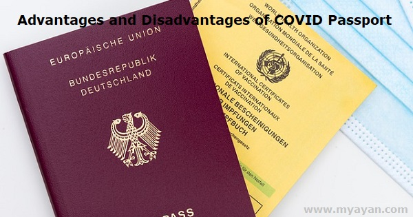 Advantages and Disadvantages of COVID Passport