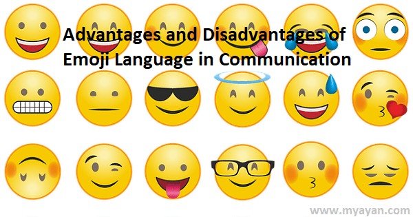 Advantages and Disadvantages of Emoji Language in Communication