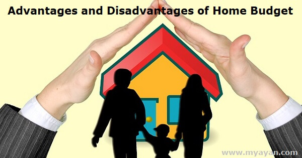 Advantages and Disadvantages of Home Budget