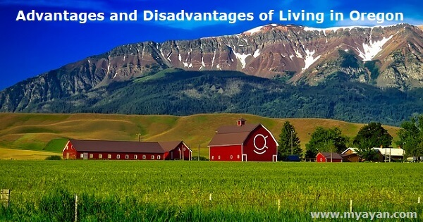 Advantages and Disadvantages of Living in Oregon
