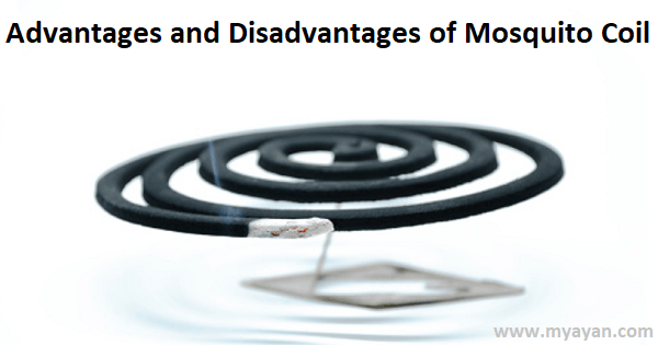 Advantages and Disadvantages of Mosquito Coil