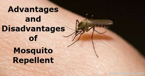 Advantages and Disadvantages of Mosquito Repellent