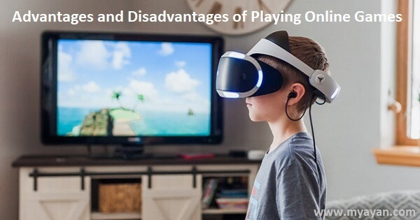Advantages and Disadvantages of Playing Online Games