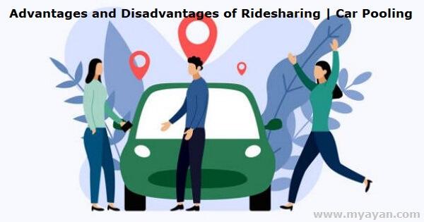 Advantages and Disadvantages of Ridesharing - Car Pooling