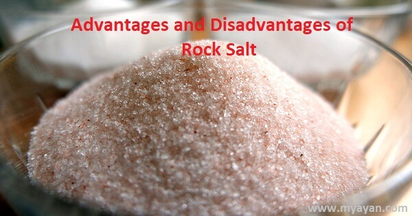 What are the Advantages and Disadvantages of Rock Salt?