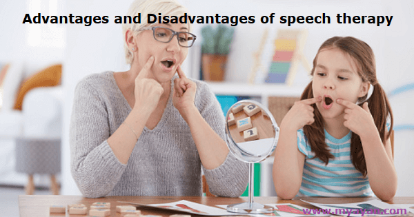 Advantages and Disadvantages of speech therapy