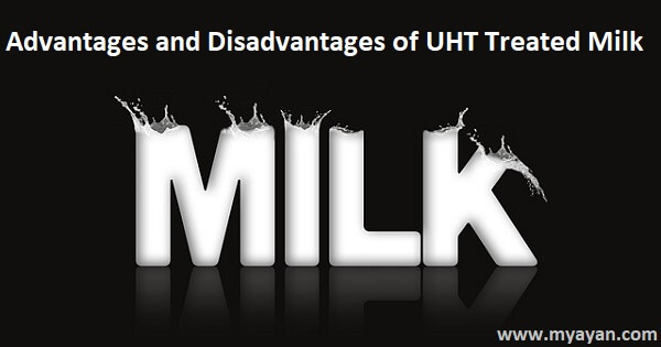 Advantages and Disadvantages of UHT Treated Milk