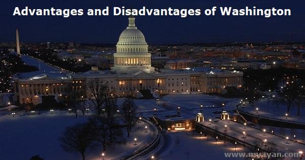 Advantages and Disadvantages of Washington