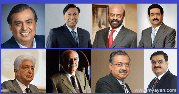 Richest Man in India & Indian Billionaires Family
