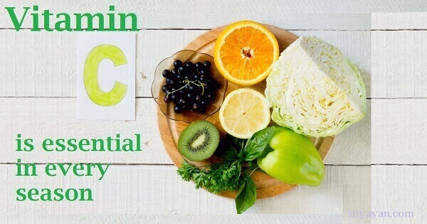 Vitamin C is essential in every season